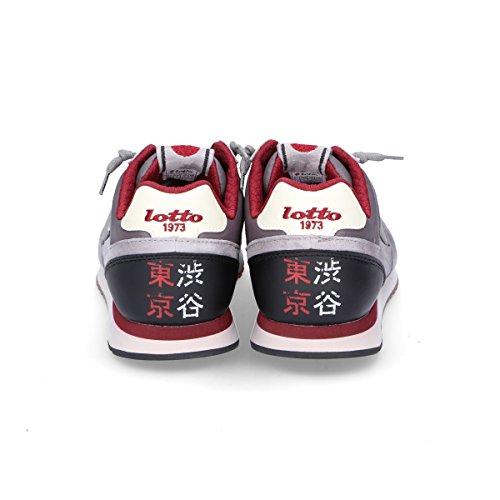 Lotto Mens T840grey Grijs Suède Sneakers