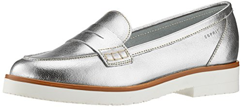 ESPRIT Women's Oska Loafers Silver cheap sale collections h9TSP1fzo