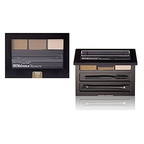 Maybelline Brow Drama Pro Palette 2 Pack (Blonde)