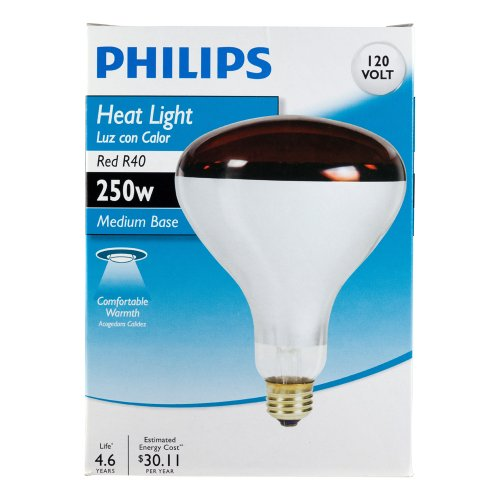 philips 415836 heat lamp 250 watt r40 flood light bulb in the uae see. Black Bedroom Furniture Sets. Home Design Ideas