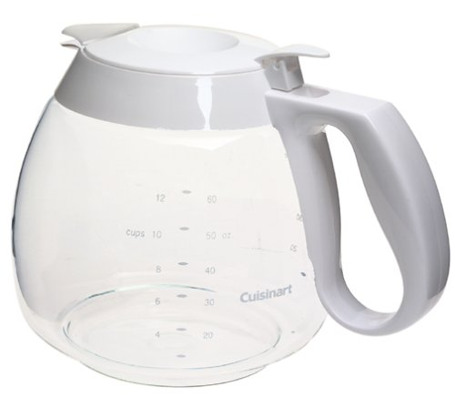 Cuisinart DCC-RC12W 12-Cup Replacement Carafe, White (Carafe White Replacement)