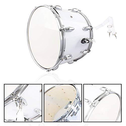 (Binlin Marching Drum Drumsticks,Snare Drum Set Student Steel Shell 14