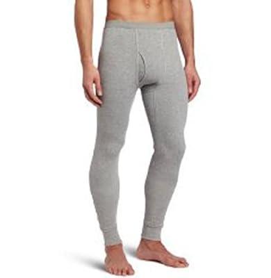 Croft & Barrow Mens Grey Thermal Pants - Size L 36-38
