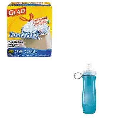 kitcox35558cox70427-value-kit-brita-soft-squeeze-water-filter-bottle-cox35558-and-glad-forceflex-tal