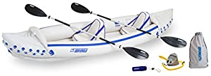 SE370K_P Sea Eagle SE370 Inflatable Sport Kayak Pro Package by Sea Eagle Boats INC