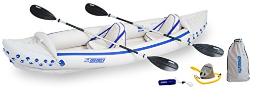 Sea Eagle SE370 Inflatable Kayak with Pro Accessories Package