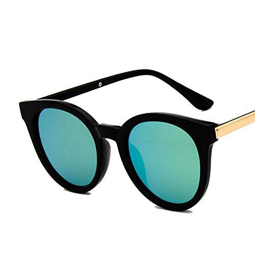 e9dcc7310d De alta calidad Sunyan Nueva ronda de personalidad dama gafas Gafas de sol,  hembra marea