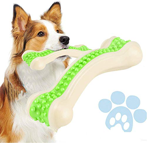 Petony Dog Chew Toys, Durable Dog Toys for Aggressive Chewers, Teeth Cleaning, Safe Bite Resistant Toothbrush Stick for…