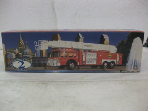Sunoco Aerial Tower Fire Truck Second In A Series In Red 1:35 Scale By Sun Company (Fire Tower Truck)