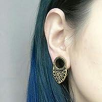 ERP 1 Par Tapones de Oído para Dilataciones de Acero Inoxidable ...