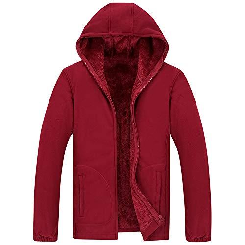 Slim Cappotto Maniche Rosso Maglione Fit Casuale Scuro Lunghe Con Uomo  Cardigan A Invernale Pullover Lanskrlsp ... a76d73b797f