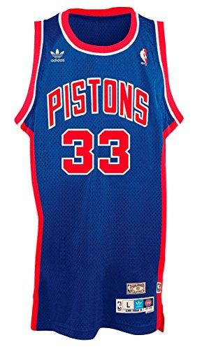 - Grant Hill Detroit Pistons Royal Adidas Soul Swingman Jersey (L)