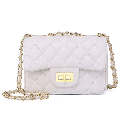 b492a73f618 Volcanic Rock Women Quilted Crossbody Bag Girls Side Purse and Shoulder  Handbags Designer Clutch with Chain - Buy Online in UAE. | Shoes Products  in the UAE ...
