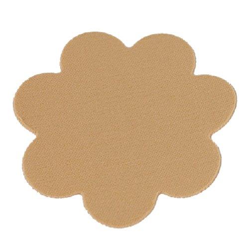 Braza Petal Top Disposable Nipple Covers - 15 Pair, Nude, OSFA (Petal Womens Top)