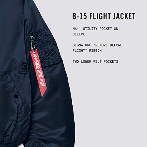 Alpha Industries Men's B-15 Flight Jacket