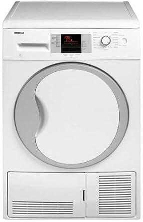 Beko DCU 8330 - Secadora De Condensación Dcu8330 Con Capacidad De 8 Kg: Amazon.es: Grandes electrodomésticos