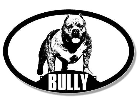 amazon oval dog breed american bully silhouette sticker pit Pocket Bully Pit amazon oval dog breed american bully silhouette sticker pit bull love automotive