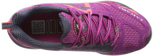 Brooks Cascadia 9 Women - Zapatos para correr para mujer Festival FuschiMidnight/Fiery Coral