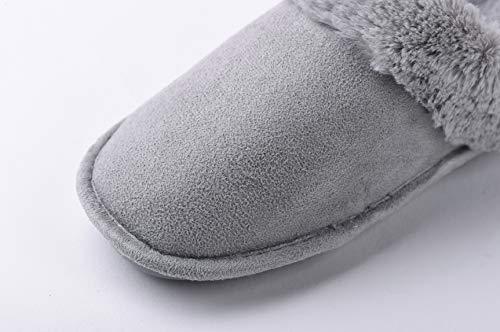 C Donna Y1 Miaows Antiscivolo Scarpe Pantofole Home Peluche Caldo Cotone Morbido UxqvPqf