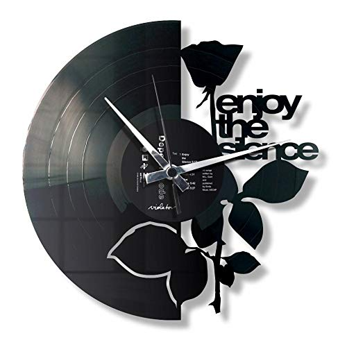 DiscOClock - Reloj de Pared de Vinilo LP 33 RPM, silencioso ...