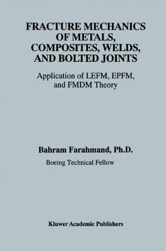 Bolted Joints (Fracture Mechanics of Metals, Composites, Welds, and Bolted Joints: Application of LEFM, EPFM, and FMDM Theory)