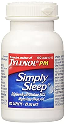 Simply Sleep Night Time Sleep Aid Caplets