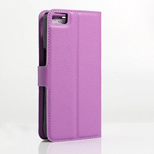 Funda Libro para BQ Aquaris M5.5, Manyip Suave PU Leather Cuero Con Flip Cover, Cierre Magnético, Función de Soporte,Billetera Case con Tapa para Tarjetas I
