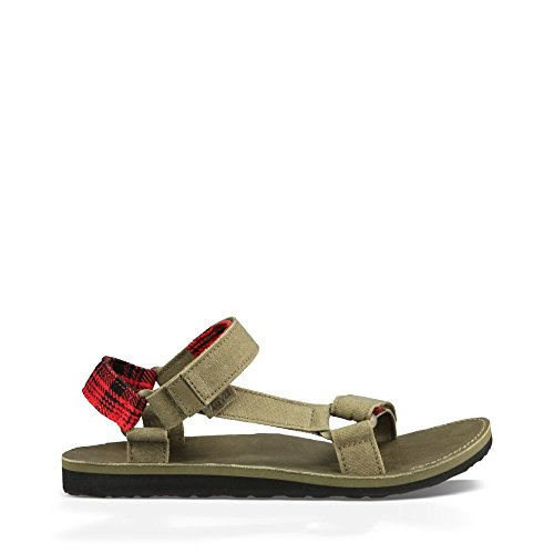 Teva Men's M Original Universal Workwear Sandal, Stone Gray, 7 M US (Athletic Canvas Sandals)