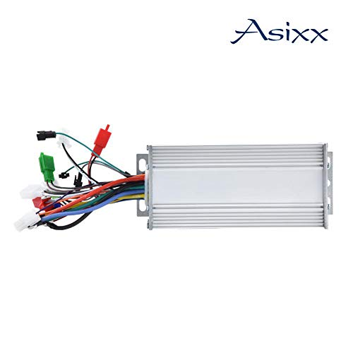 (Asixx Motor Brushless Controller, 36V/48V 1000W Brushless Motor Sine Wave Controller for Electric Bicycle Scooter)