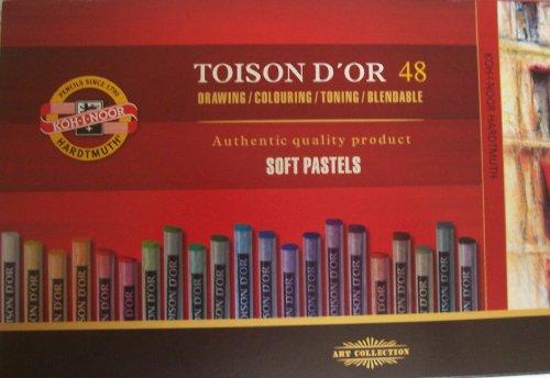 Koh-I-Noor TOISON D'OR - Sets of 48 artists' Soft Pastels