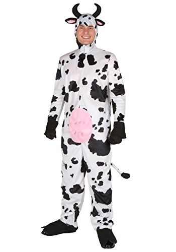 Adult Happy Cow Costume Medium