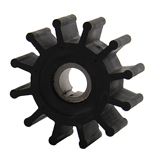 Westerbeke Water Pump (CarBole Sherwood 12 Blade Water Pump Impeller Kit 10077K M-5 Onan 132-0375 Westerbeke 11764 33100)