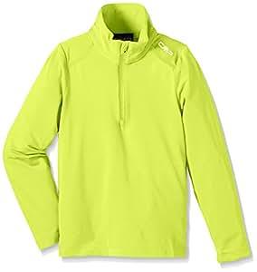 CMP Jersey de esquí para niños, todo el año, niño, color verde lima, tamaño 6 años (116 cm)