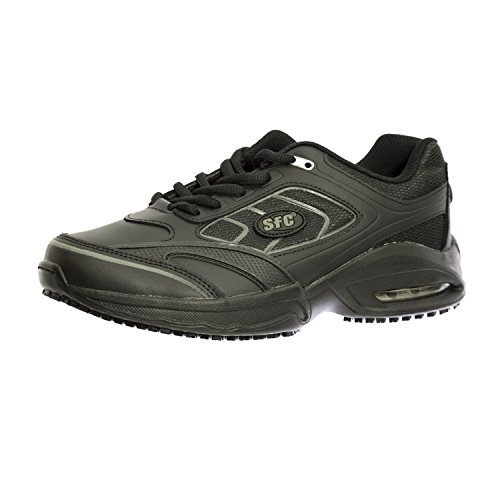 Shoes for Crews Women's Revolution Leather Shoes 9041W Size 11 Black