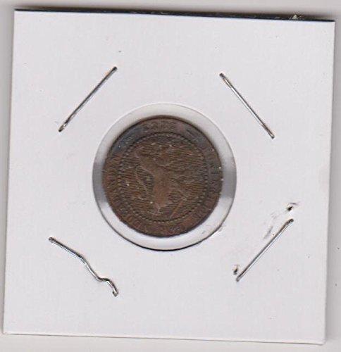 1881 Netherlands Pattern Cent Very Good