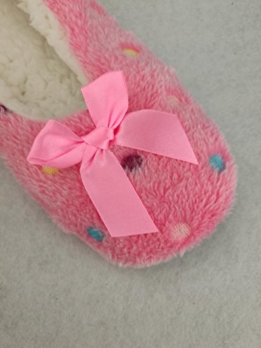 Pink Slipper Socks YD603 Womens Shoes skid Autumn Winter Indoor Dark Floor Non PwwxTUgqn