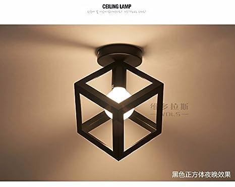 DHG Lámpara de Mesa-Restaurante de luz de Techo Personalidad ...