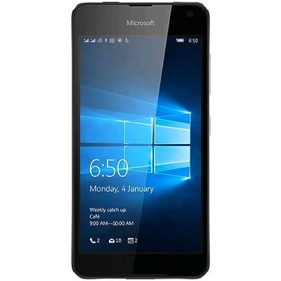 "Microsoft Lumia 650 (RM-1154) 16GB Black, 5"", Dual Sim, Unlocked International Model, No Warranty"
