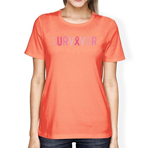 Unique 365 shirt Manches T Courtes Taille Survivor Femme Printing rprqF6x0