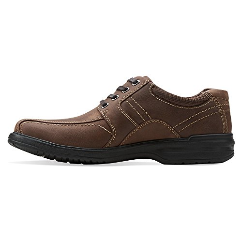 Clarks Hombres Sherwin Limit Oxford Chocolate Cuero