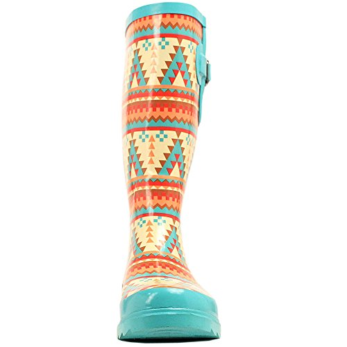 amp;F DAKOTA M SIZE LEG 8 WESTERN RAIN TOE WOMENS BOOTS LADIES SOUTHWEST ROUND nYdwqdAx