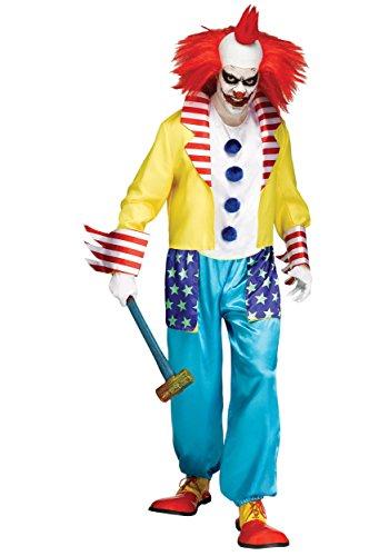 Kid Killer Clown Costume (Wicked Clown Master Adult Costume - Standard)