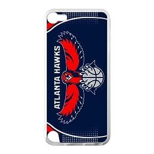 RAROFU Atlanta Hawks Custom Case for IPod Touch 5 TPU (Laser Technology)