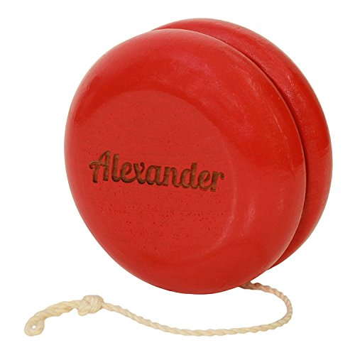 Yoyo King Customized Competition Classic Red Wooden -
