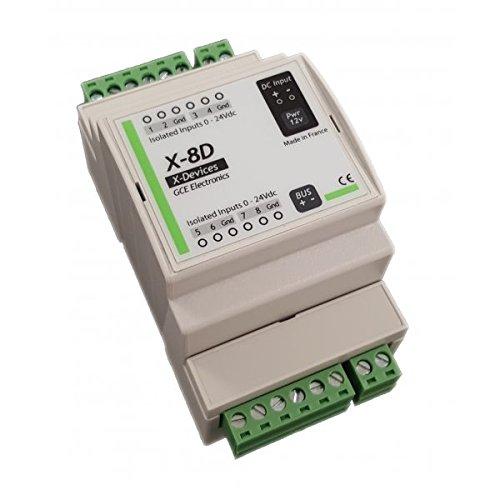 Estensione ingressi digitali octocouplé es per ipx800 V4 –  GCE Professional Electronics GCE Electronics
