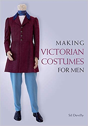 Men's Vintage Reproduction Sewing Patterns Making Victorian Costumes for Men $51.62 AT vintagedancer.com