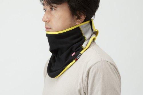 Goldwin Wind stopper neck warmer black x black (KK) F (free size) GSM19352