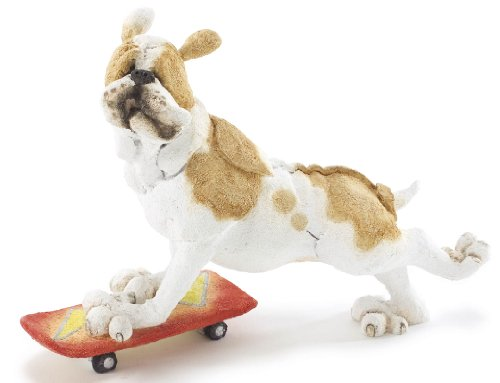 Retired Country Artists -Bulldog on Skateboard - Junior - AB70127 - A Breed Apart