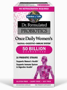Garden of Life, (2 Pack) Dr. Formulated Probiotics, Once Daily Women's, 30 Vegetarian Capsules
