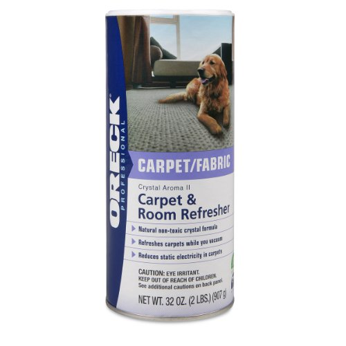 Oreck Carpet (Oreck Crystal Aroma II Carpet & Room Freshener 32 oz.)